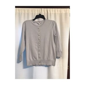 Banana Republic grayish blue sweater